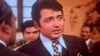 Chandni Re Jhoom - Kishore Kumar, Sanjeev Kumar, Nauker Song 2 - YouTube