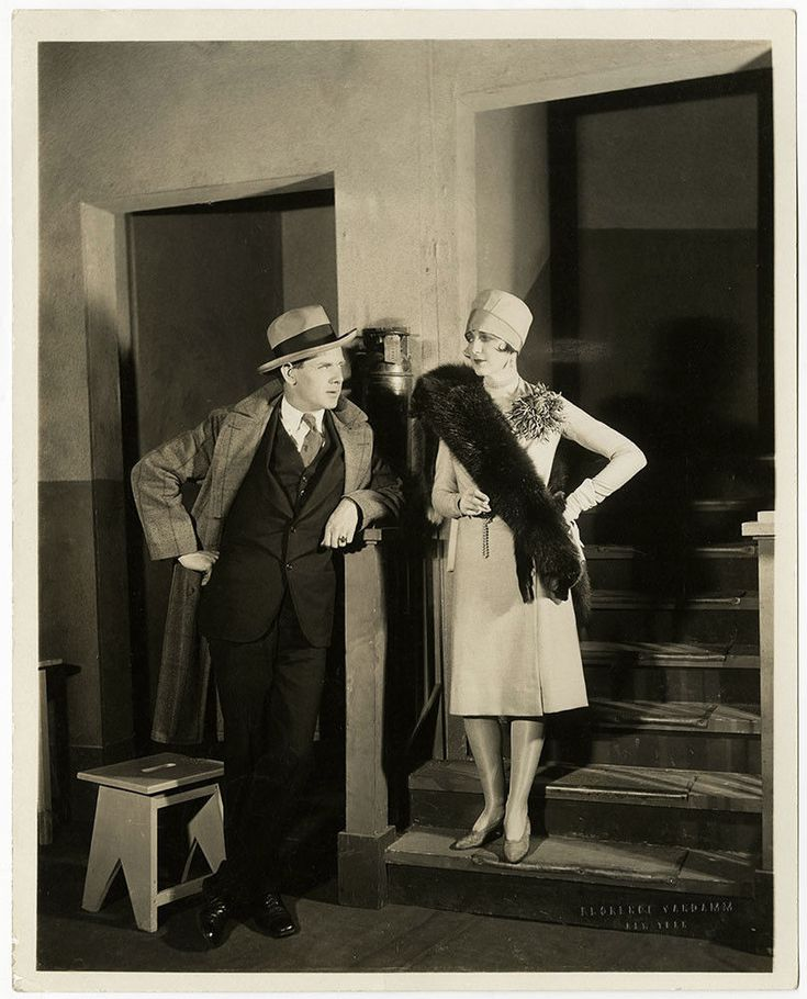 Charles Bickford Juliette Crosby 1926 Original Broadway Chicago Production Photo