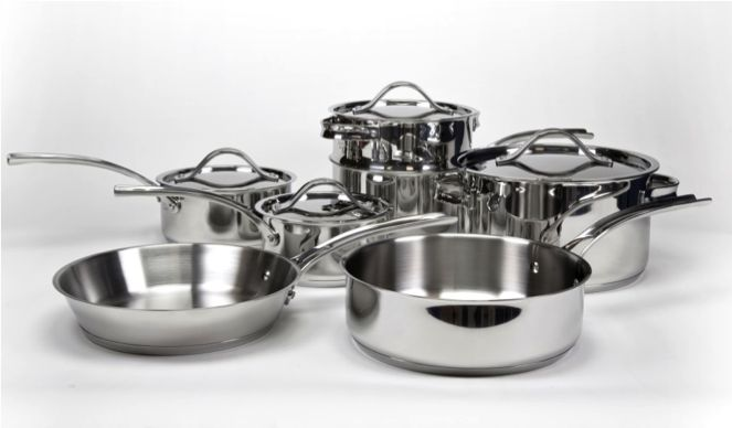 Vote to win #TKeveryday prize 11 piece cookware set by Gordon Ramsey.