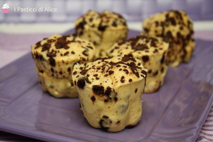 Muffins Veloci al Microonde http://blog.giallozafferano.it/pasticcidialice/muffins-veloci-microonde/