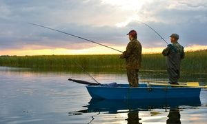 Groupon - Half- or Full-Day Salmon-Fishing Trip for Two or Four from Rip Some Lips Guide Service (Up to 50% Off) in Columbia Heights East. Groupon deal price: $149