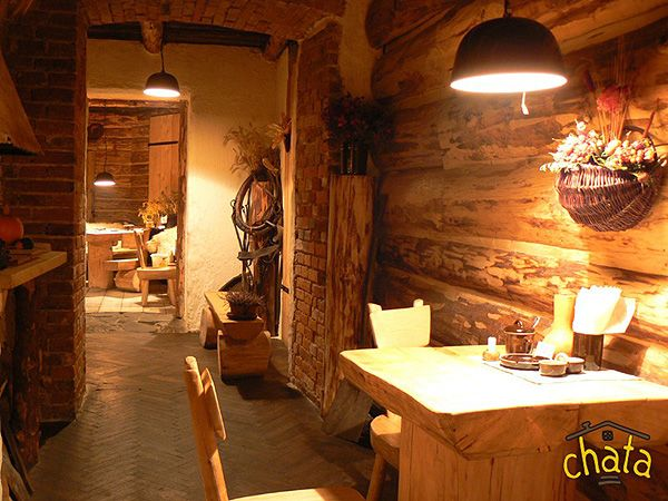 Chata - the place which looks like from the past and tasty polish food! 21 Krowoderska St.