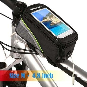 SHARE & Get it FREE | Roswheel 12496 Bicycle Mountain Bike Frame Tube Mobile Phone Case with Touchscreen + Reflective StripeFor Fashion Lovers only:80,000+ Items·FREE SHIPPING Join Dresslily: Get YOUR $50 NOW!