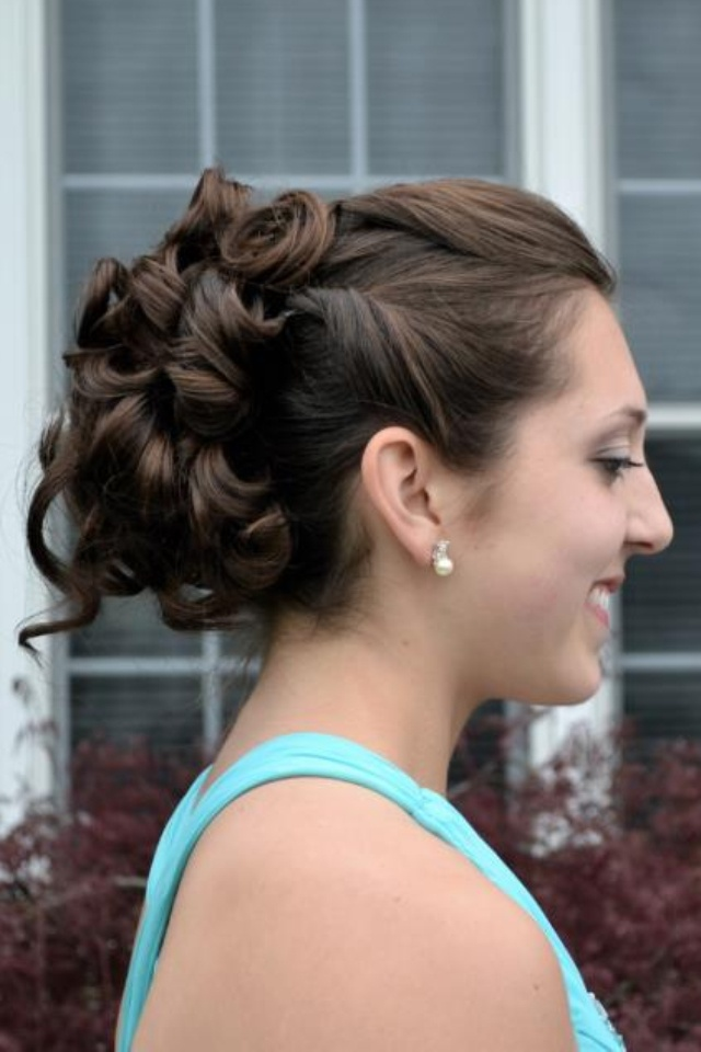 Fancy Prom Updo Hairstyles Pinterest Prom Updo Updo And Hair Style