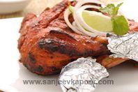 Tandoori Chicken - Sanjeev Kapoor recipe