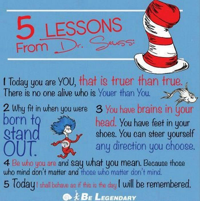 Lessons from Dr. Seuss
