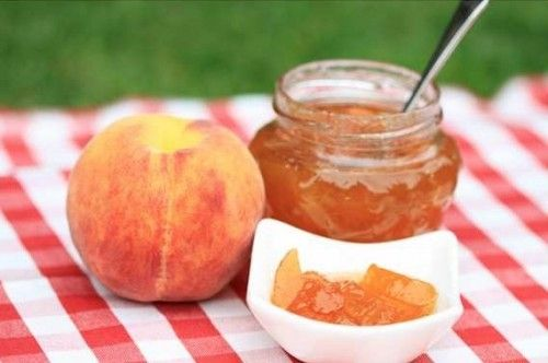 Варим персиковое варенье, рецепт варенья из персиков.