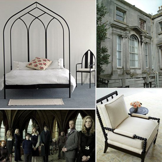 Dark Shadows Inspiration: '70s Moroccan Goth For the Modern Home