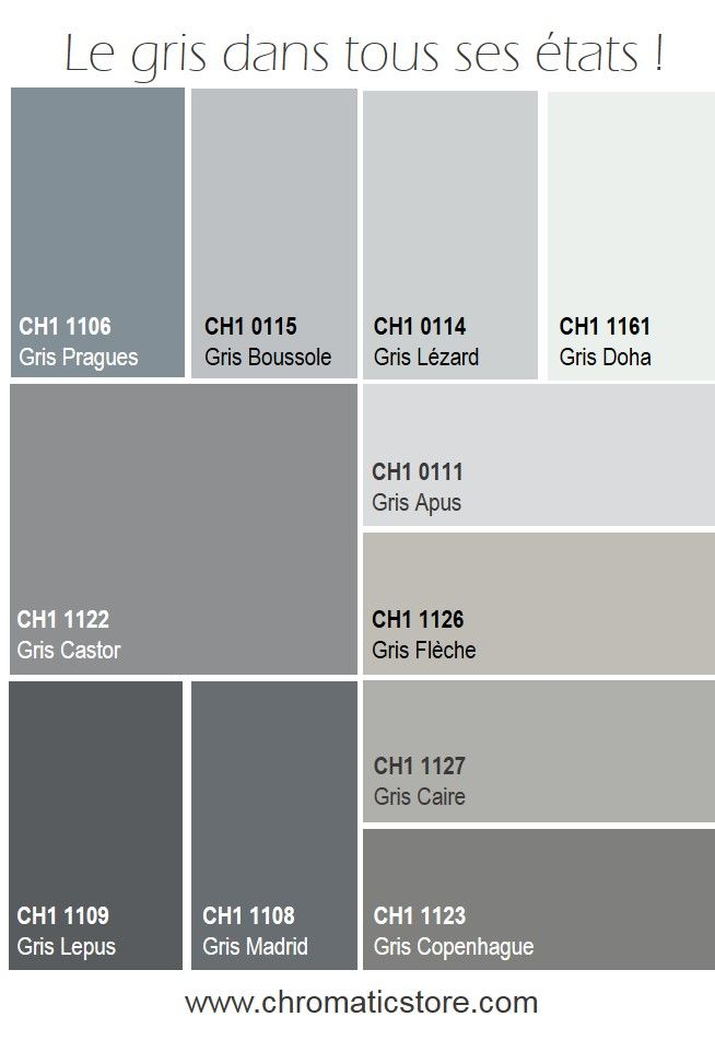 les 65 meilleures images du tableau chromatic gris neutres et colores sur pinterest couleurs. Black Bedroom Furniture Sets. Home Design Ideas