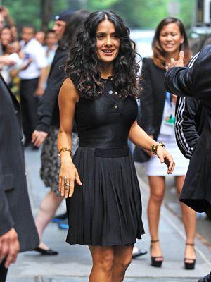 Salma's curls
