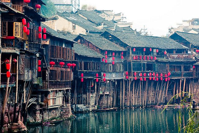 Fenghuang, Hunan, China: Places Travel, Fenghuang Hunan China., Dreams Places, China Wher, Fenghuanghunan, China Ancient, Places I D, Amazing Places, Travel Wishlist