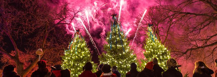fireworks ...Fireworks Schedule  Join us for our upcoming Fireworks Displays:  Friday, November 27 | Part of Ceremonial Opening, 6:30 PM  Sunday, December 20 | 6:30 PM