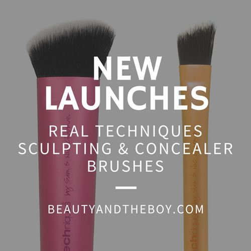 Real Techniques is set to launch something new,  the Sculpting & Concealer brushes. Check out my post to find out more  http://www.beautyandtheboy.com/2015/04/real-techniques-set-to-launch-sculpting.html