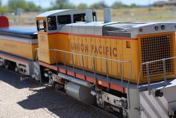 All aboard the Adobe Desert Mountain Railroad #Phoenix #Arizona #trains