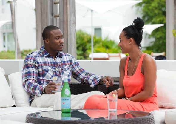Brandon Marshall Personality Disorder | Brandon Marshall with wife Michi in the Turks and Caicos over the ...