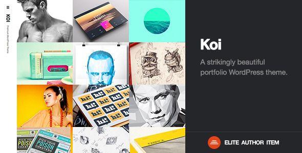 Koi   Responsive Portfolio WordPress Theme - Portfolio Creative