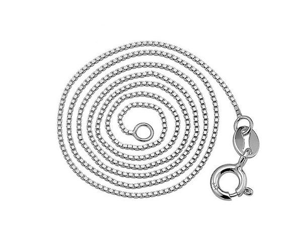 Sterling Silver Necklace Chain Style 11 by ATHiNGZ on Etsy, $9.99