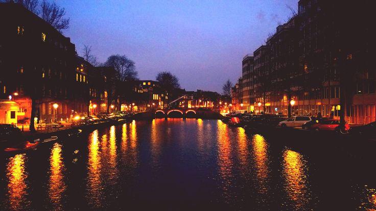Amsterdam City lights 4