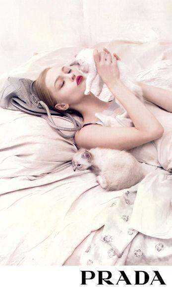 Sasha Pivovarova • Prada Spring/Summer 2006 Ad Campaign