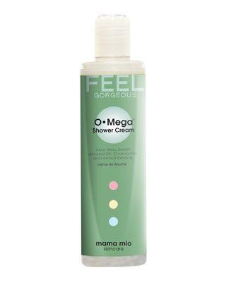 Mama Mio - OMega Shower Cream - Ultra Yumuşak Vücut Temizleyicisi // Ultra Yumuşak Vücut Temizleyicisi cildinizi temizleyen, yumuşatan, sakinleştiren, nemlendiren ve forma sokan, bir arada mükemmel bir uyum içinde çalışan aktif maddelerden oluşuyor. İçinde sodyum laurat ve lauril sulfat barındırmayan bu az köpüren formül çok yumuşak ve muhteşem kokuyor. Gravida; 10 temel güzellik yağının bileşkesinden oluşan özel kokumuz.