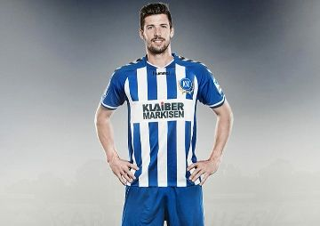 Karlsruher SC 2014/15 hummel Home and Away Kits