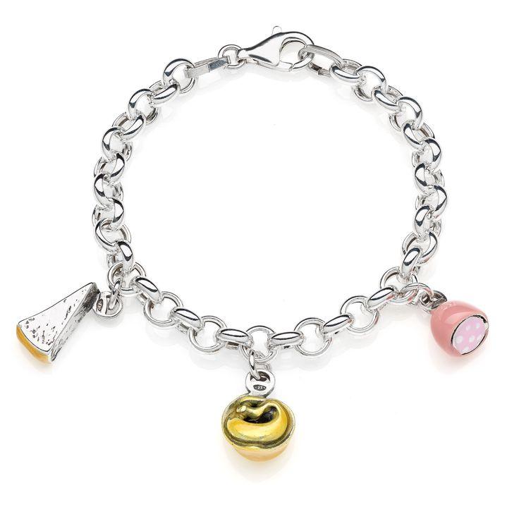 Sterling Silver Premium Bracelet - Emilia Romagna - 159 Euro Free worldwide shipping over 99 Euro