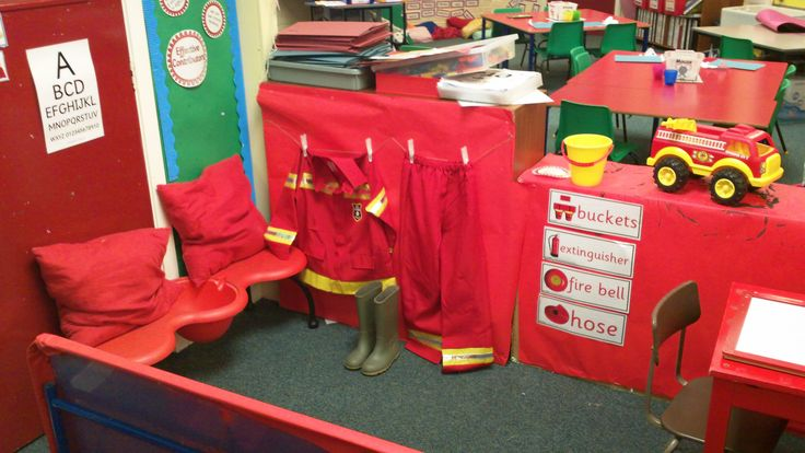 Play Fire Station | play in a hose to put out fires a fire fighters uniform and a ...