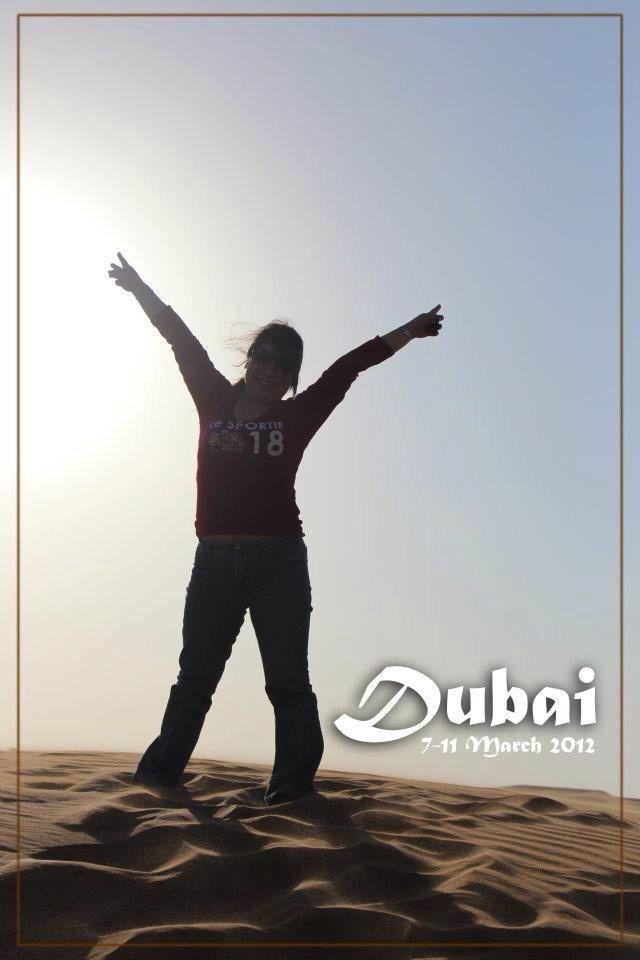 Spectacular Deserts of Dubai