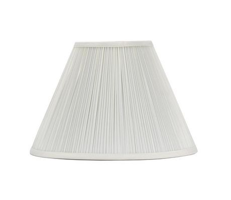 Mainstays 16In Ivory Pleated Lamp Shade Ivory | Pleated ...