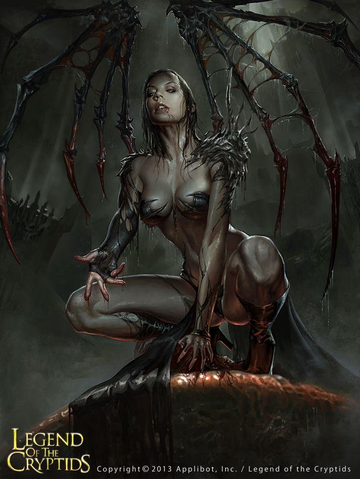 Nude Demon Woman 74