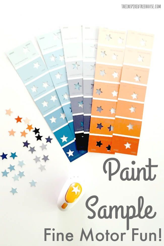 Crafts To Do With Paint Samples