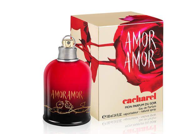 Amor Amor, Cacharel : parfum à la roseEau de Parfum du soir, Amor Amor, Cacharel, 40,95 €.