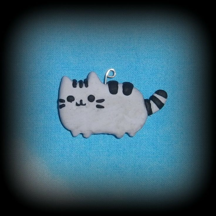 Fimo, Pusheen, disponibile come collana