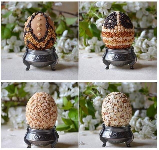 DIY velikonoční dekorace: Kraslice z těstovin