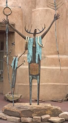 sculptures in Santa Fe