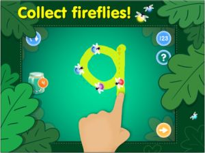 Learn numbers and handwriting in one app - fun math fine motor games #kidsapps #math #finemotor #ece #handwriting