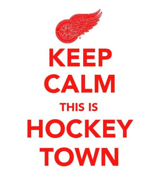 I've always loved the Detroit Red Wings. My father used to play hockey for his own league when I was younger. We used to go to games together a lot.