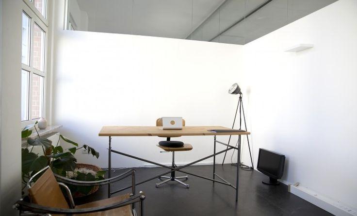 Schöner Büroraum im kreativen Umfeld #Büro, #Bürogemeinschaft, #Office, #Coworking, #Hamburg