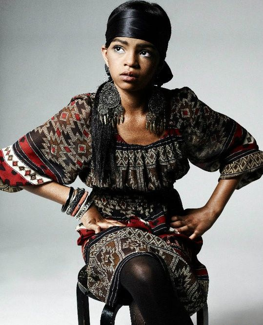 Selah Marley, daughter of Lauryn Hill and Rohan Marley