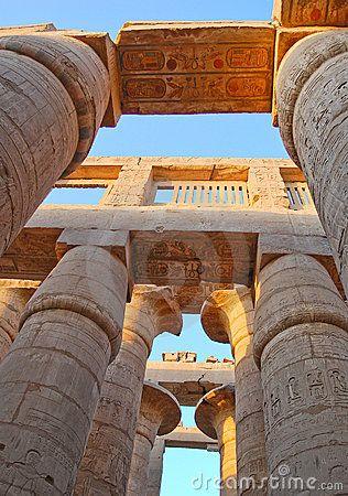 Karnak temple, Egypt by Boonsom, via Dreamstime