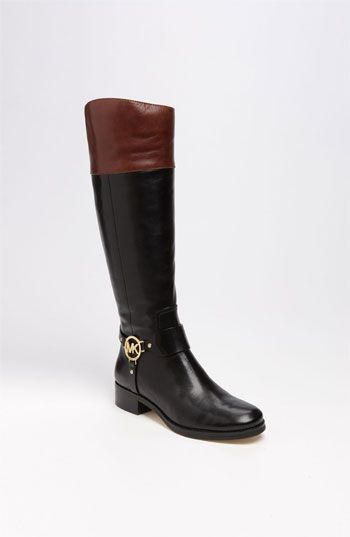 Oh my gosh. I'm in love, I'm in love, and I don't care who knows it! Michael Kors 'Fulton' Harness Boot