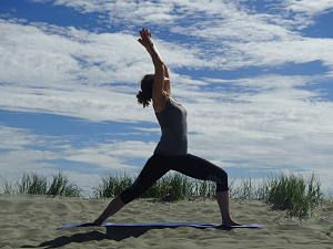 Virabhadrasana 1 - Warrior 1