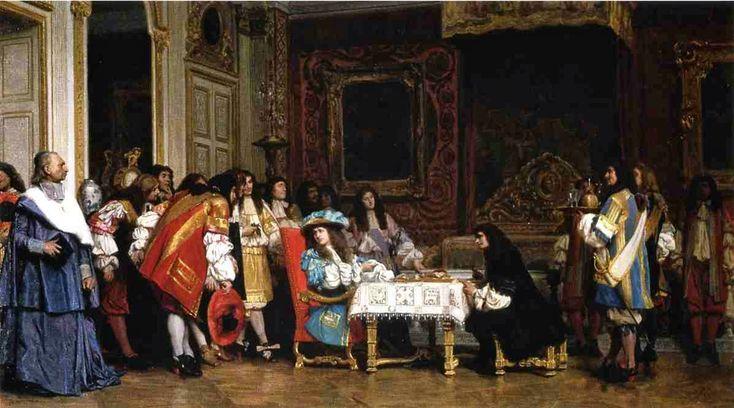 Ο Μολιέρος και ο Louis XIV