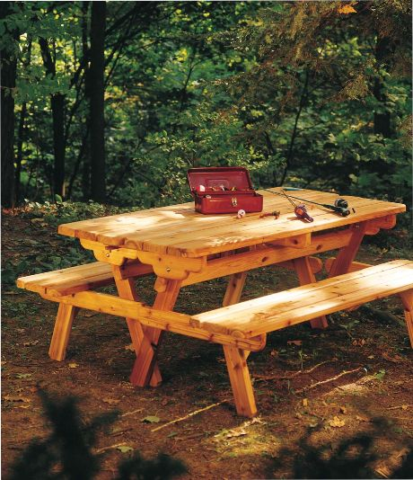 Picnic Table Turns Into Bench Outdoor Projects Pinterest