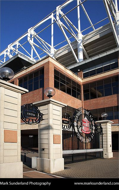 Stadium of Light Sunderland England by Mark Sunderland, via Flickr