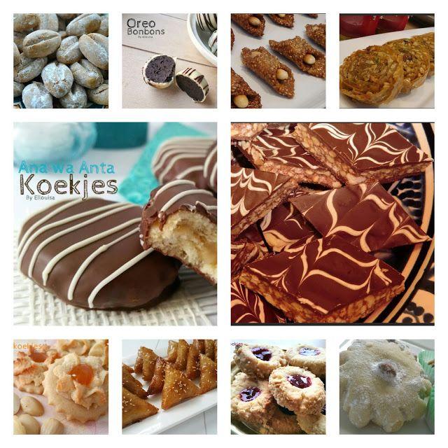 Ellouisa: Koekjes!! 64 recepten op een rij