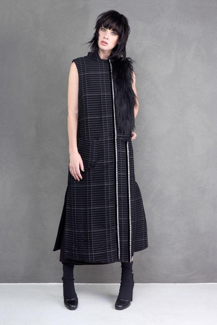 Oversize waistcoat Malloni