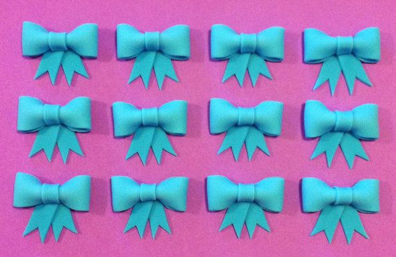 Fondant Bows by KORYKAKES on Etsy, $16.95