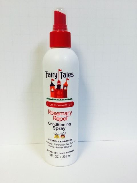 Fairy Tales Lice Prevention Rosemary Repel Conditioning Spray - 8Oz