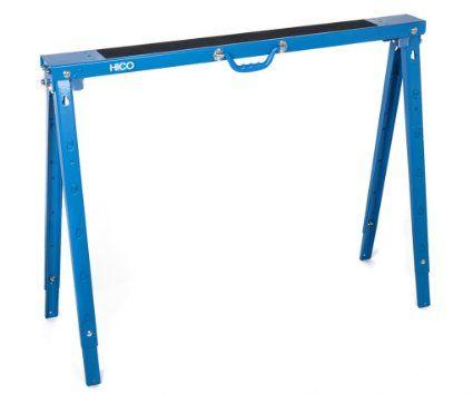 HICO USH1700 Folding Metal Sawhorse Single   Height Adjustable · Table Legs Metals